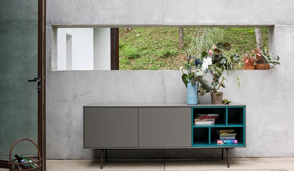 Meuble TV sur-mesure Küchen Spezialist - Spécialiste de la cuisine allemande et de l'aménagement intérieur