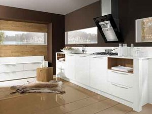 Cuisine laquée blanche - Küchen Spezialist