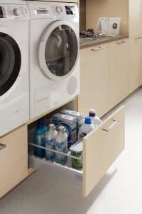 rangements machine à laver