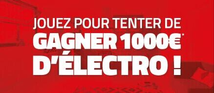 Jeu 1000€ électro